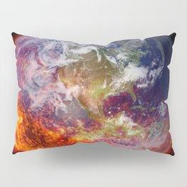 Global Warming Climate Change Pillow Sham