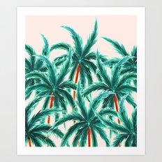 Coconut Trees #society6 #decor #buyart Art Print