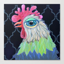 Moroccan Chicken Canvas Print