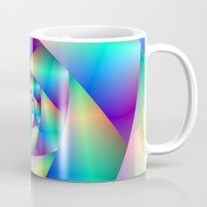 Spiral in Blue and Purple Mug