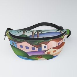 Classical Masterpiece 'An Angler' by Tarsila do Amaral Fanny Pack