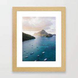 island life #society6 #decor #buyart Framed Art Print