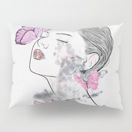 A touch of butterflies. Pillow Sham