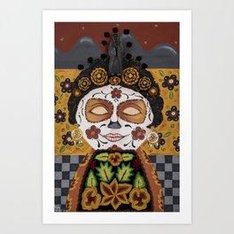 Mexican Catrian Art Print