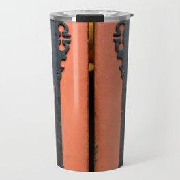 Orange Door Handles Travel Mug