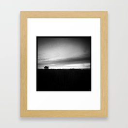 Blueberry Plains Framed Art Print