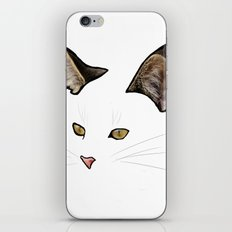 invisible cat iPhone & iPod Skin