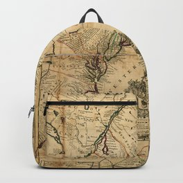 Map of North America (British Colonies) 1731 Backpack