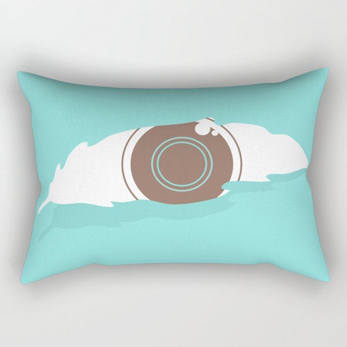 En-light-enment Rectangular Pillow