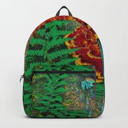 Mushroom & Fern on Oak Tree Backpack