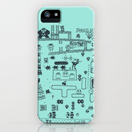 Retro Arcade Mash Up iPhone Case