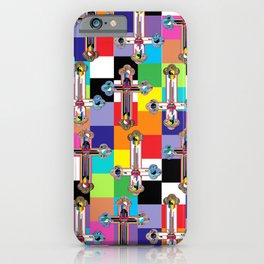 Jesus is The New Pattern 2 iPhone Case