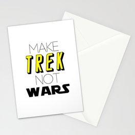 Trek Not Wars Stationery Cards