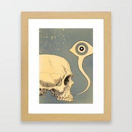Untitled (skull) Framed Art Print