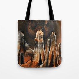 Dimensional Door Tote Bag