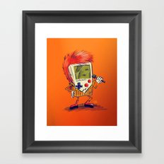Game Bowie Framed Art Print