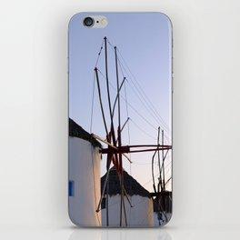 Famous Mykonos Windmills in Greece iPhone Skin