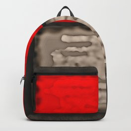 Red Rectangle Backpack