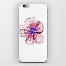 Little Lilac Flower iPhone Skin