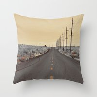 journey Throw Pillows featuring JOURNEY by Teresa Chipperfield Studios