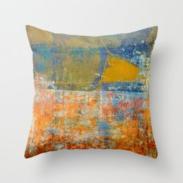 El Brezal Throw Pillow
