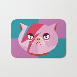 Glam cat Bath Mat