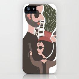 Leon and Mathilda iPhone Case