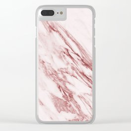 Alabaster Rosa Clear iPhone Case