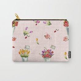 French Flower Market Carry-All Pouch