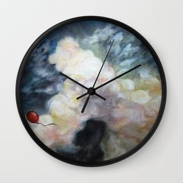 Lone Balloon Wall Clock