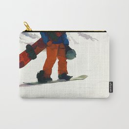 Ready to Ride! - Snowboarder Carry-All Pouch