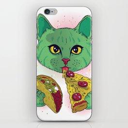 Cosmic Cat iPhone Skin