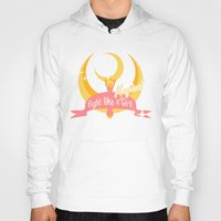 sailormoon Hoodies featuring  Fight like a Magical Girl by Shouho