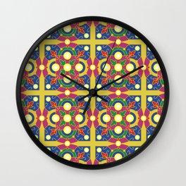Diwali pattern Wall Clock