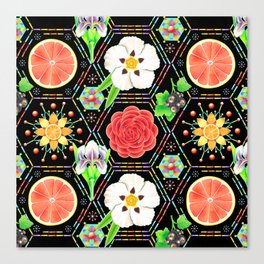 4160 Tuesdays Perfume Patchwork Canvas Print
