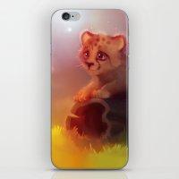 cheetah iPhone & iPod Skins featuring Cheetah by apofiss