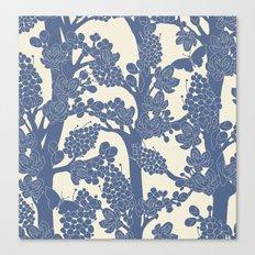 Romantic tree Canvas Print