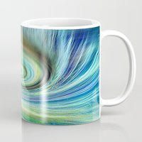 surf Mugs featuring Surf by  Agostino Lo Coco