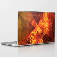 lotr Laptop & iPad Skins featuring Into Mount Doom by Lyle Hatch