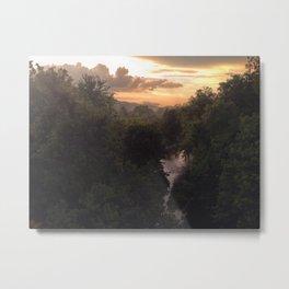 Potomac River Sunset Metal Print