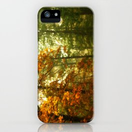 Mysterious Fall iPhone Case