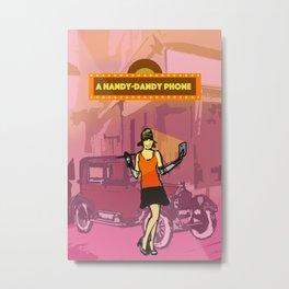 Handy-Dandy Smartphone Metal Print