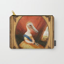 Framed Baby Buitreraptor Carry-All Pouch