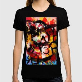 Abstraction Lyrique avec vitesse T-shirt