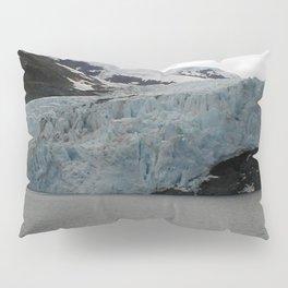 TEXTURES -- A Face of Portage Glacier Pillow Sham