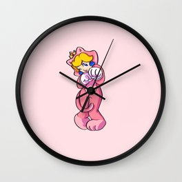 Super Peach 3D World: Super Bell Wall Clock