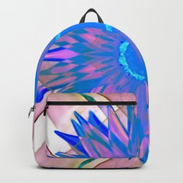Beautiful Pinky Psychedelic Wild Flower Backpack