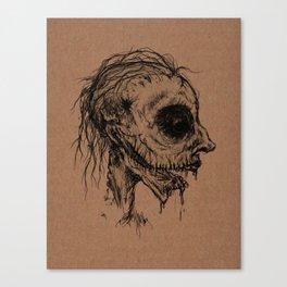Dead Zombie Canvas Print