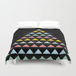 Where you go 3 Duvet Cover