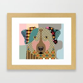 Australian Shepherd Framed Art Print